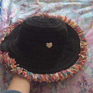 Betsey Johnson sun hat